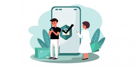 Comment se connecter et vérifier le compte dans ExpertOption